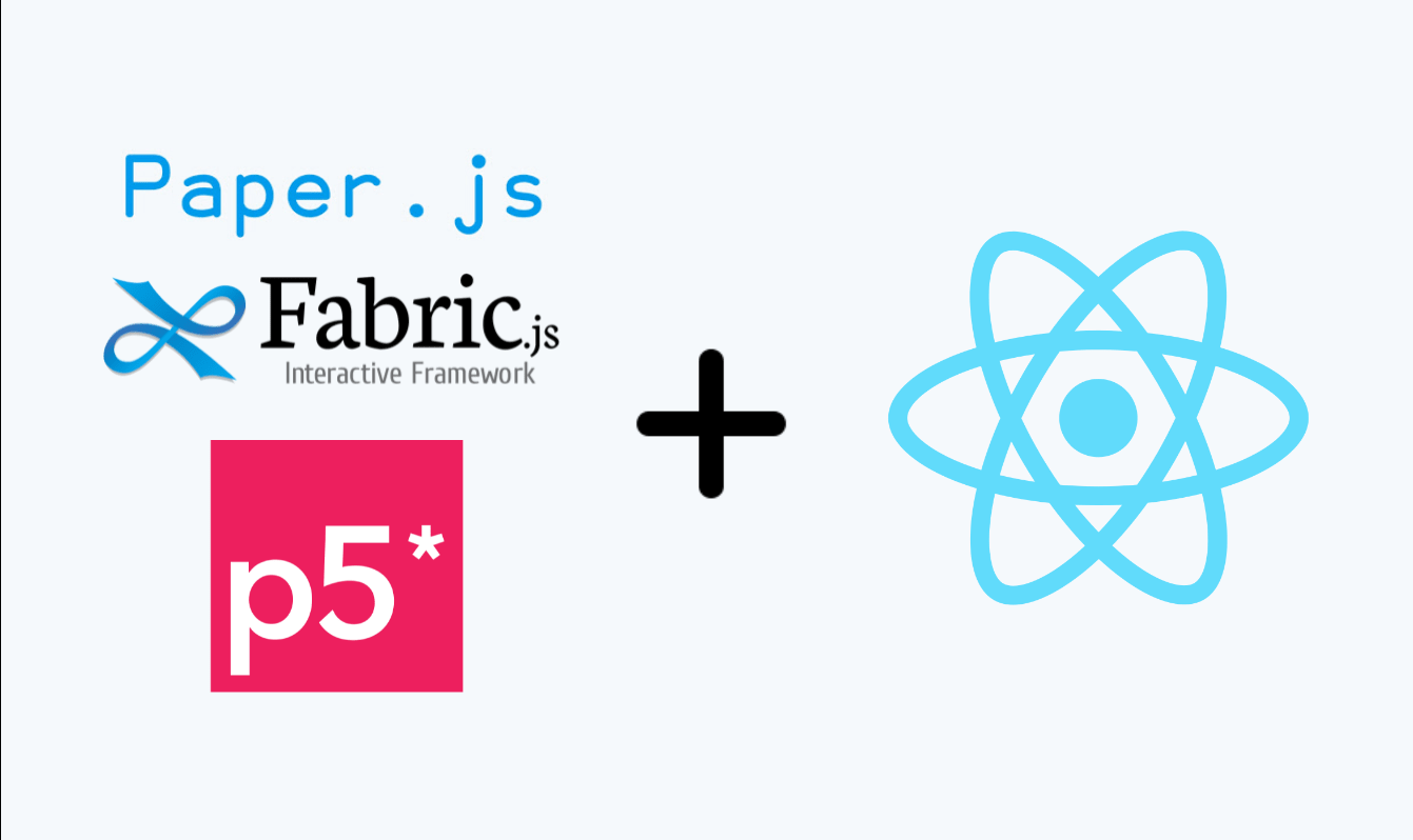 How to implement javascript canvas libraies in react